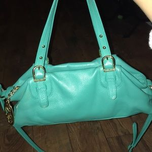Handbags - Turquoise stylish handbag